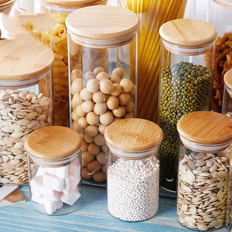 Буркан за бонбони за подправки - Организация и съхранение в къщата
