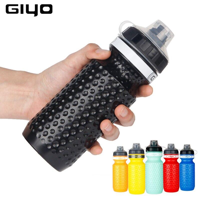 Велосипедная бутылка для воды GIYO, 600 мл, горная велосипедная бутылка для воды, для кемпинга, пеших прогулок, велосипедная фляжка, для уличного спорта, велосипеда, чайник, водная бутылка