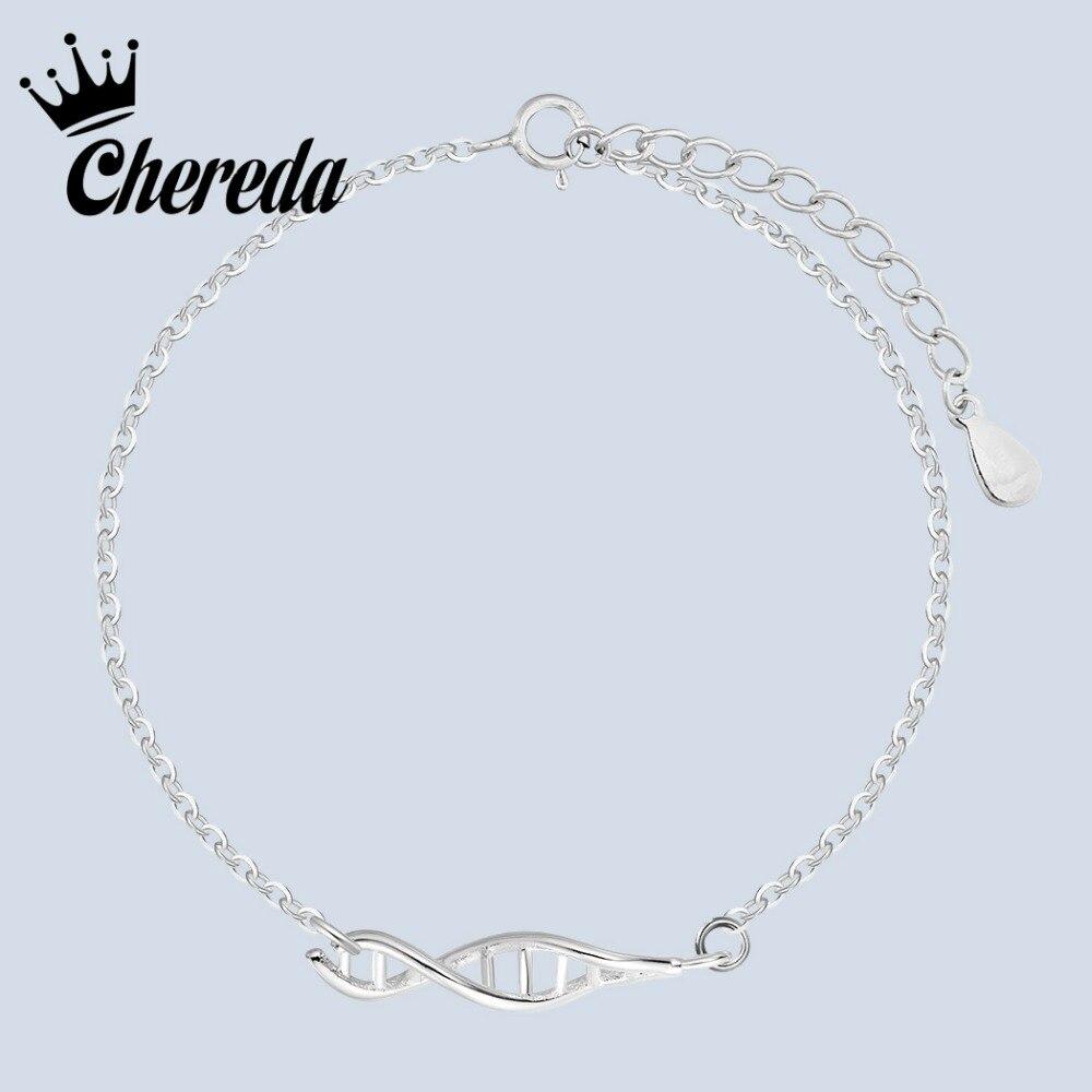 Pulsera Chereda para mujer, pulseras con forma de ADN, amuletos de moda, accesorios de compromiso para fiesta de boda