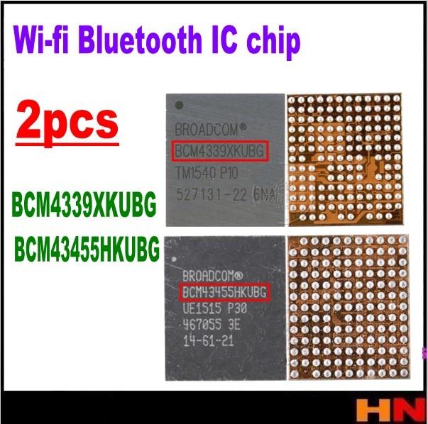 2pcs BCM43455HKUBG BCM43455 BCM4339XKUBG BCM4339 Para LG V10 IC wi-fi wi-fi chip de Bluetooth