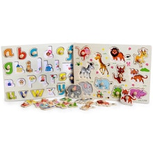 Kids Preschool Educational Wooden early Education Toys Baby Hand Grasp Puzzle Toys Vegetable Fruit T