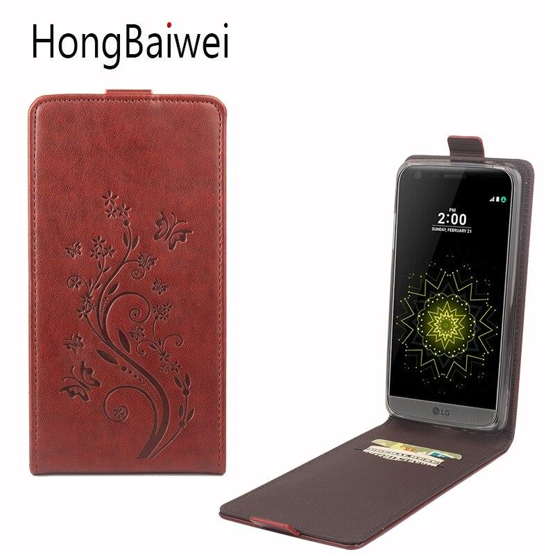 Funda abatible para LG LV5, billetera de cuero para LG LV3 X Power L Bello 2 E980 L7ii p715, funda para móvil