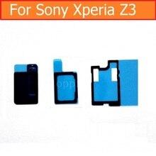 Ruban adhésif colle étanche 3 en 1 pour Sony Xperia Z3 D6633 D6603 D6653 écouteur haut-parleur + haut-parleur + câble de sonnerie Flex