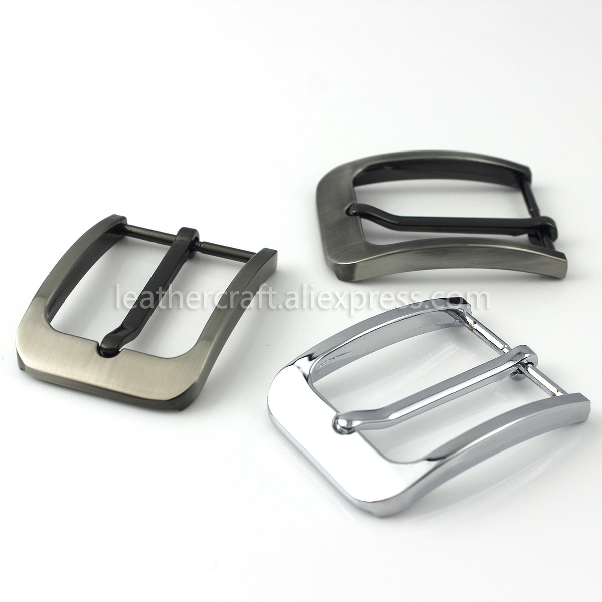 1pcs Men Belt Buckle 35mm Metal Pin Buckle Fashion Jeans Waistband Buckles For 33mm-34cm Belt DIY Le