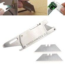 Multifunktions klinge papier gestochen brief opener messer Utility sharp tasche paket tool cut multi paket cutter öffnen mehrzweck