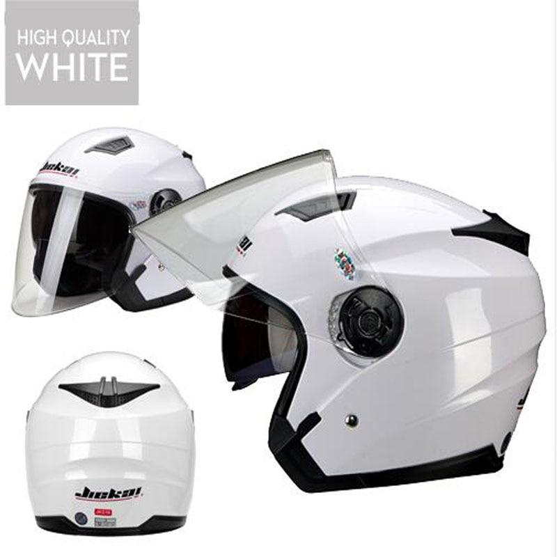 Men Motorcycle half Helmet Dual Lens Scooter Moto Helmet Casco vespa village Riding capacete de moto motocross Helmets