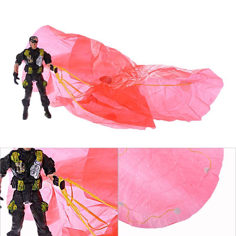 3 uds. 9cm paracaidistas, juegos para niños, deportes al aire libre, juguete de los soldados del paracaídas
