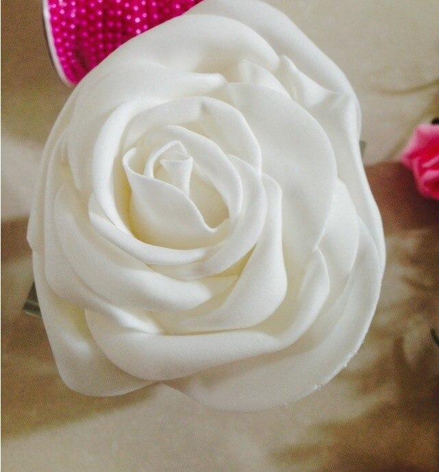 (10cm)  Big EVA Foam Rose Head  Wedding Decor  For DIY Wedding Flower (100pcs/lot)