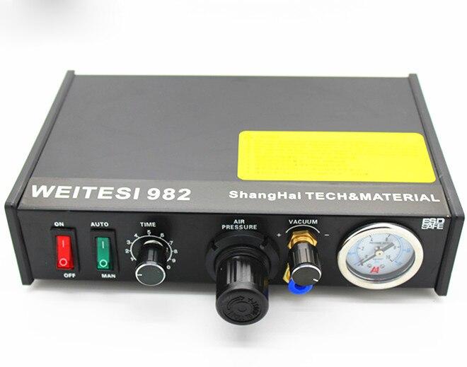 ماكينة توزيع غراء السيليكون atx-ii ، تجفيف سريع نصف أوتوماتيكي 982 ، شحن مجاني