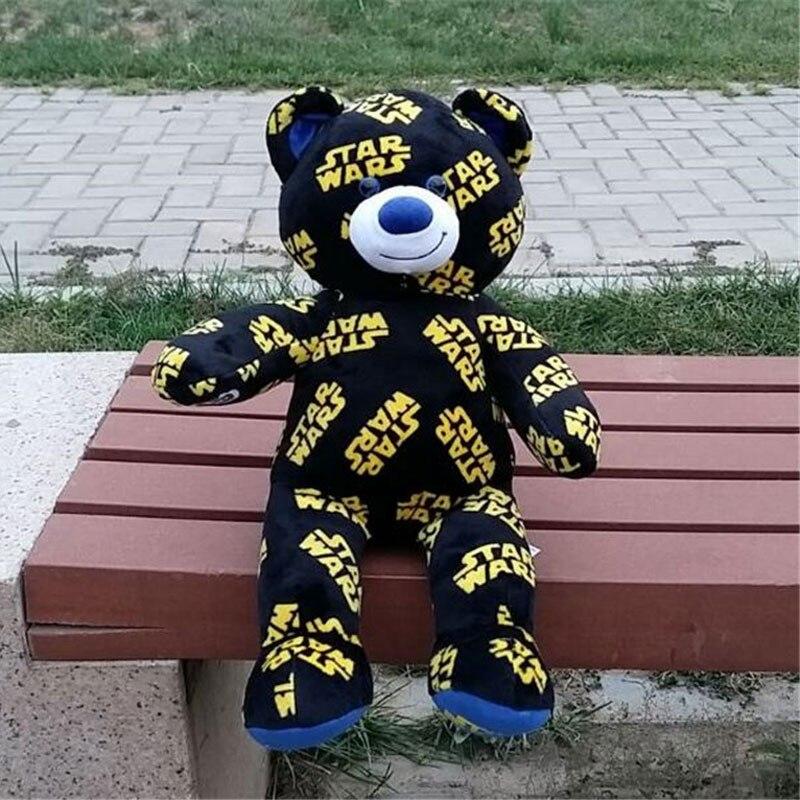 40cm Height Star Wars Version Black Bear Plush Toys Animal Stuffed Dolls For Kids Gift