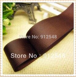 """1 """"(25mm) 10 sólidos Grosgrain Ribbon Cor Embalagem 100yard/lot frete grátis proa comemoração decoração DIY Materiais Tape, DXCS41"""