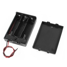 Storage Box Holder Case High Quality 3x AA Battery Storage Case Box Clip Holder For 3 X AA Rechargeable Battery DIY