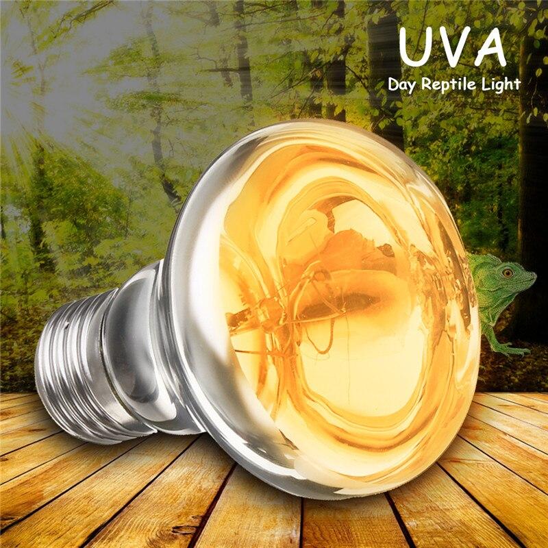 25 Вт 40 Вт 50 Вт 60 Вт 75 Вт 100 Вт лампа для рептилий амфибия птица змея Basking Sun лампа нагреватель UVA галогенная лампа теплый белый Pet нагревательная лампа