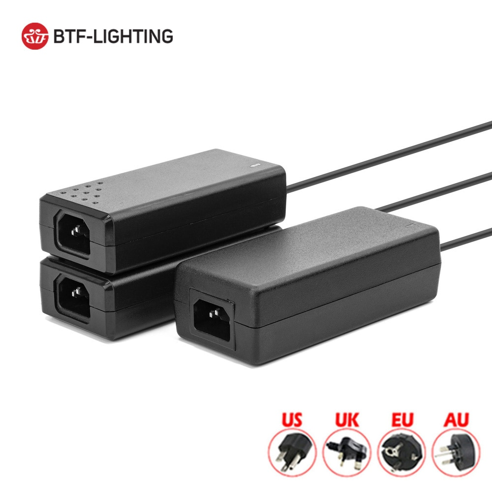 DC5V LED Power Supply 2A 3A 6A 8A 10A Switch Transformer WS2812B LED Strip Light Adapter SK6812 RGBW