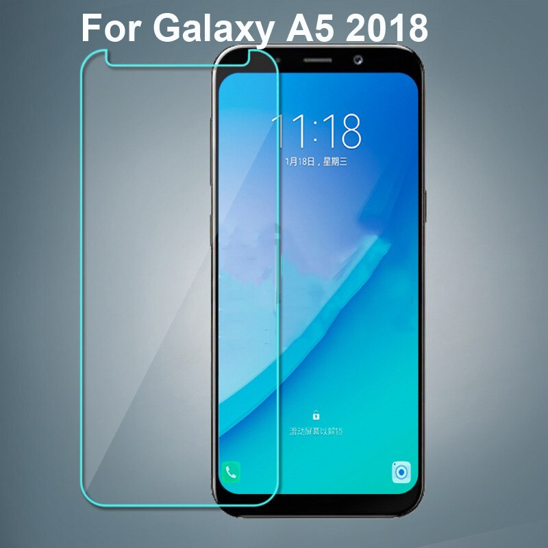Tempered Glass For Samsung Galaxy A5 2018 SM-A5300 Screen Protector Film Glass For Galaxy A5 2018 To