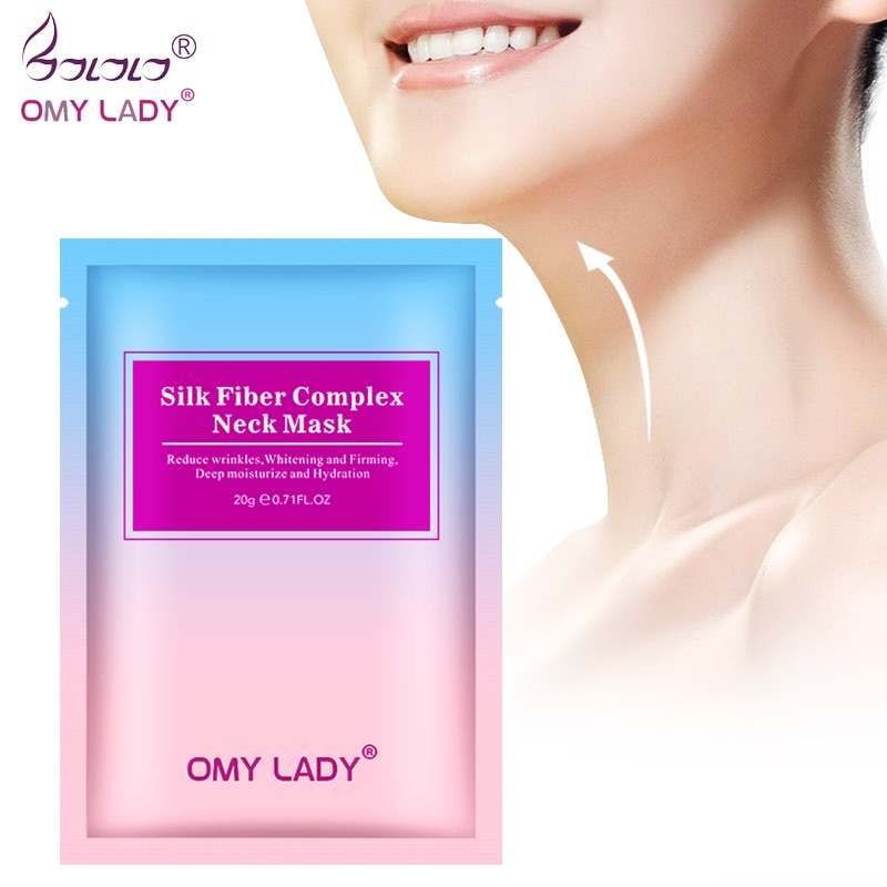 OMYLADY Neck Mask Skincare Anti Wrinkle Whitening Moisturizing Nourishing Firming Neck Care 1pcs Anti-aging Anti-Wrinkle