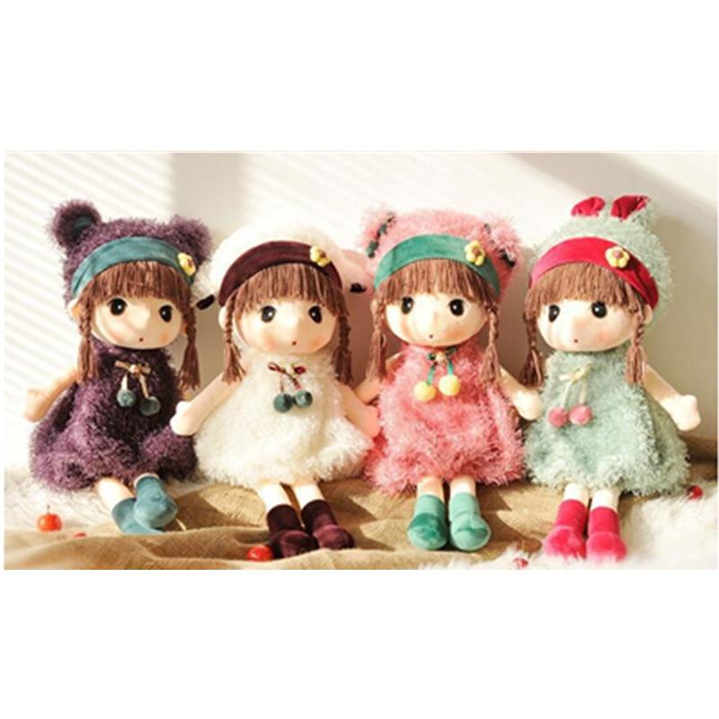 1pc 45 centimetri Nuovo RagDoll Peluche Ripiene Dolls Peluche Phyl Peluche di Nozze Bambola di Pezza giocattoli Svegli Dolce Modello della ragazza i bambini Regalo Di Compleanno