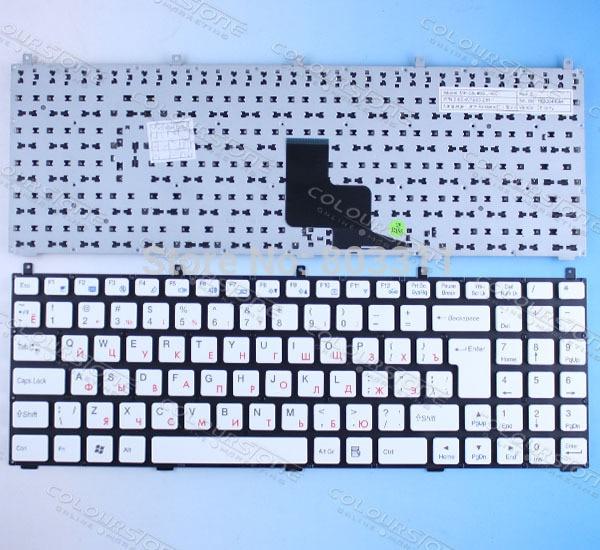 Russian Laptop Keyboard for Casper W765S DNS 0123975 MP-08J46SU-4301 6-80-W76S0-281-1  CLEVO PHILCO 15A SIM2000 laptop keyboard