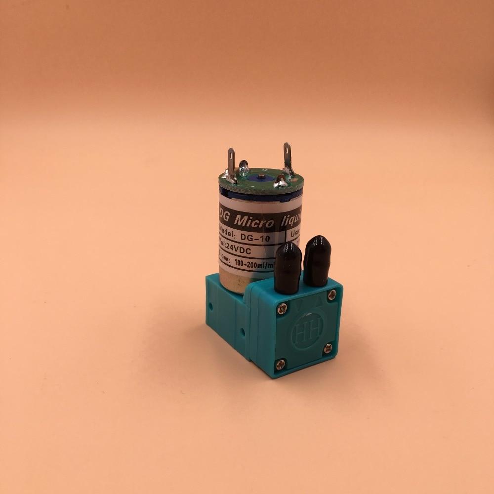 Bomba de tinta 5 uds 3W 24V DG 10 para impresora Galaxy UD 181LA 1812LA 1812LC 2512LC 3212LC, bomba de tinta ECO solvente, pequeña bomba de tinta