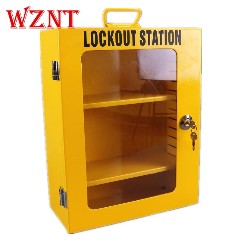 NT-K04 المعادن قفل مجلس الوزراء مزيج حزمة الأمن قفل السلامة قفل مربع LOTO السلامة تأمين عدة تأمين محطة