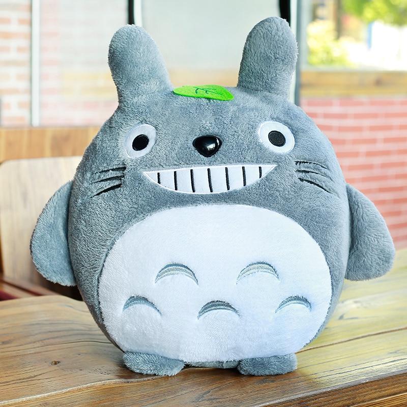 1 ud. 20cm My Neighbor Totoro peluche juguete Kawaii animal relleno juguete Anime Totoro niños muñeca niños suave dibujos animados juguete para regalo