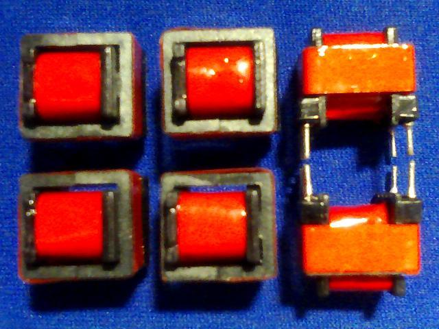 50 Uds. EE10-Q8 transformador de alta frecuencia Horizontal de carga de linterna