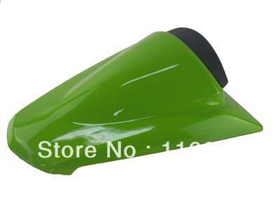 Cubierta de asiento tipo sillín trasero verde para Kawasaki Ninja 250R EX250 2008-2011