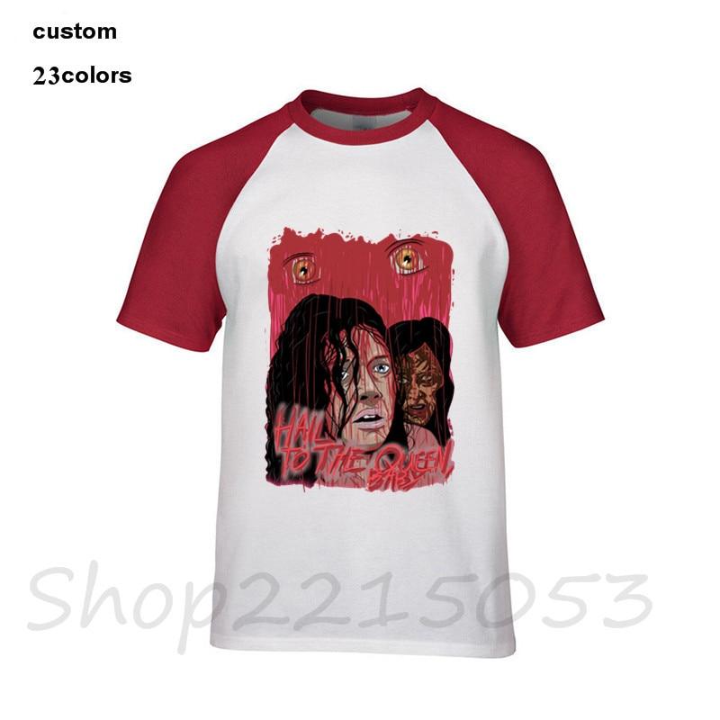 Película Pulp Fiction Camiseta Hombre Uma Thurman Mia Wallace Quentin Tarantino camisetas camiseta Jason horror máscara ropa 5xl hombre camiseta
