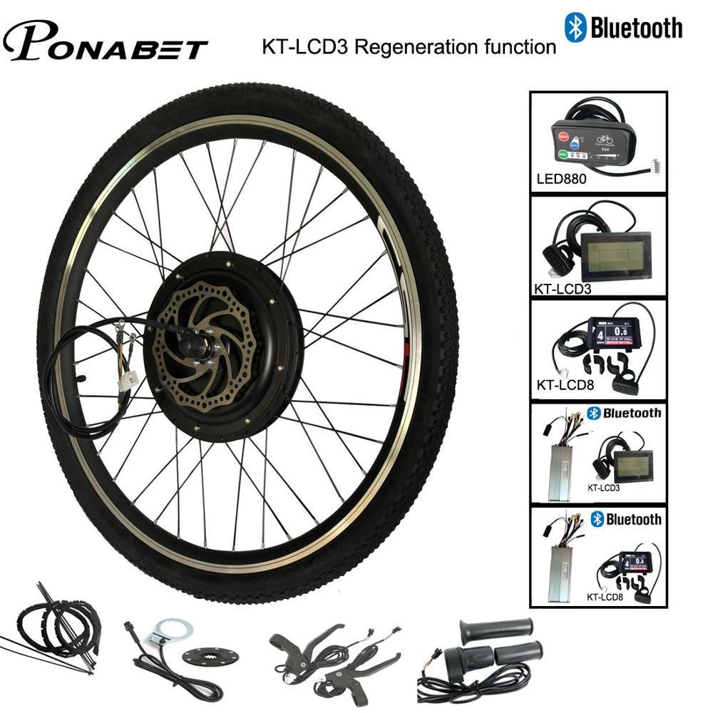 Ebike Electric Bicycle Conversion Engine Motor Wheel Kit 20 24 26 28 29 inch 700C 36V 250W 48V 1000W 1500W Front Rear E Bike