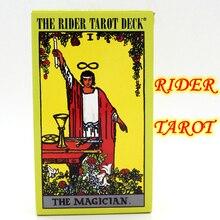 Anglais complet le cavalier Tarot Deck édition centenaire jeu de société 78 pièces carte à jouer Waite Tarot Rider-waite Tarot jeu de société
