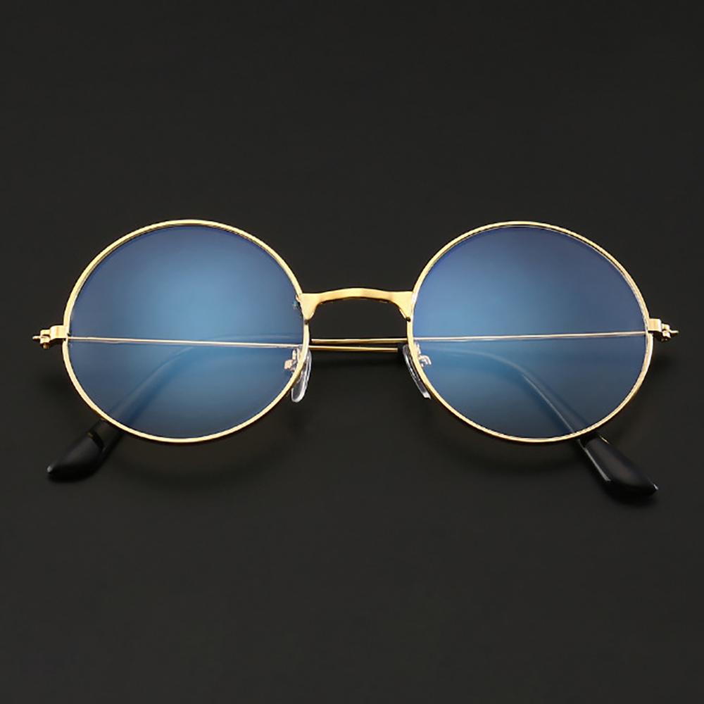 1 Pc Ultralight Metal Frame Eyewear Blue Light Anti Blue Rays Radiation Blocking Glasses Men Women's