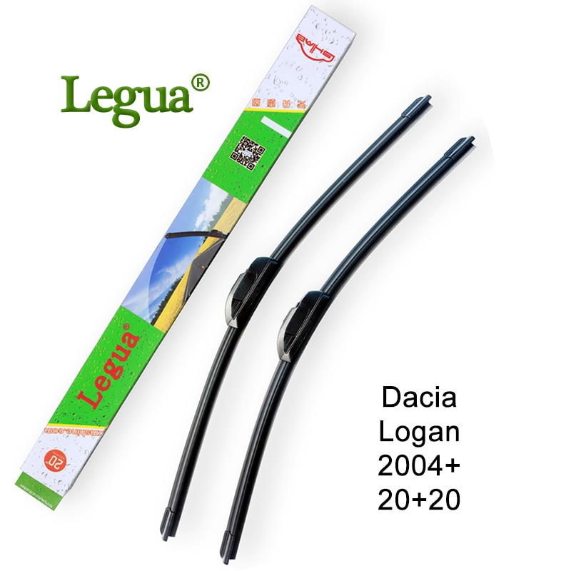 Legua лобовое стекло автомобиля Стеклоочистители Лезвия для Dacia Logan, 2004 +, 20