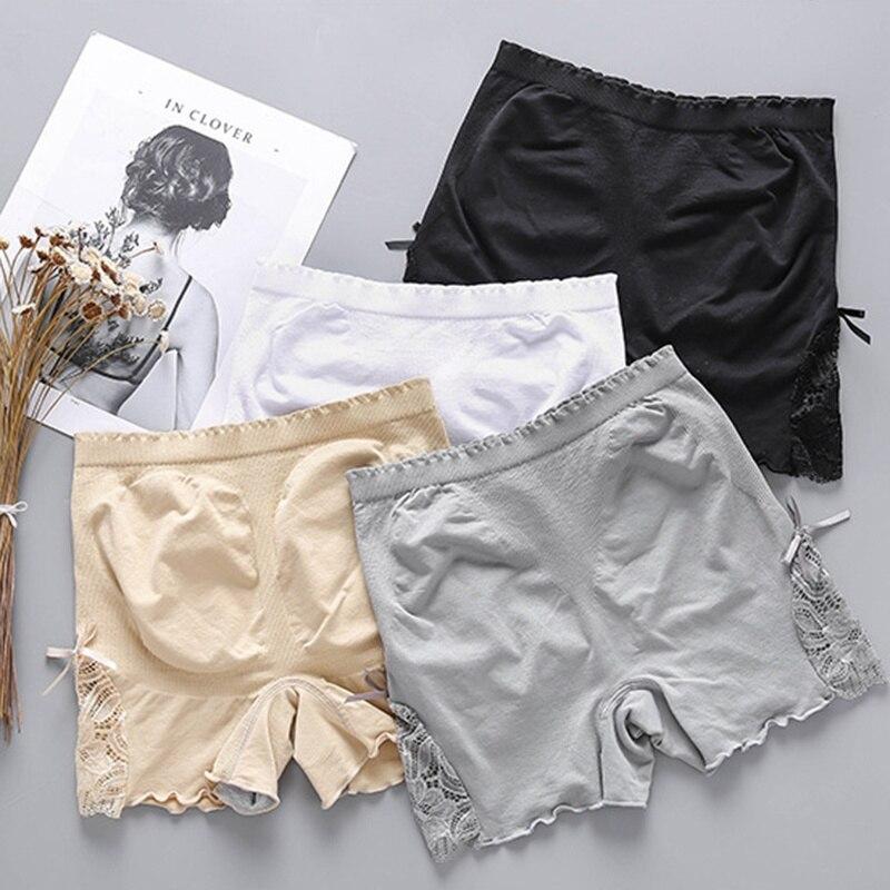 Engen Kurzen Hosen Frauen Hüfte Hosen Schwarz Nude Unter Tragen Plus Größe Unterwäsche Unter Rock Frau Nahtlose Shorts L11