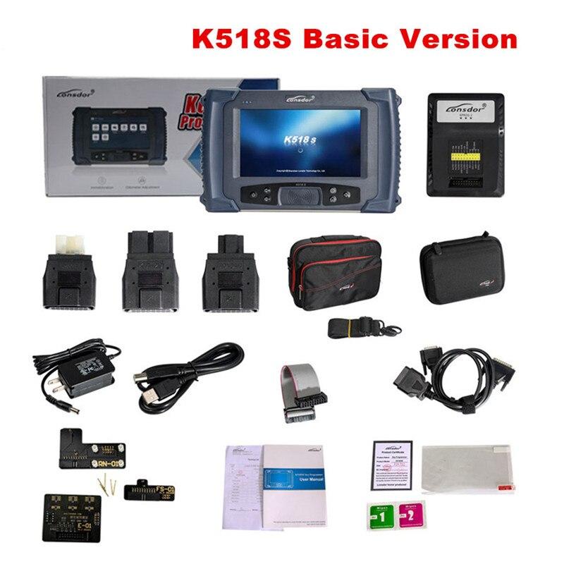 2019 gran venta Lonsdor K518ISE K518S programador de llaves para todas las marcas con ajuste de odómetro sin limitación de Token actualización gratuita en línea