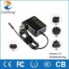 12V 3.6A 48W chargeur adaptateur secteur pour Microsoft surface Pro1 Pro2 tablette usine directe de haute qualité