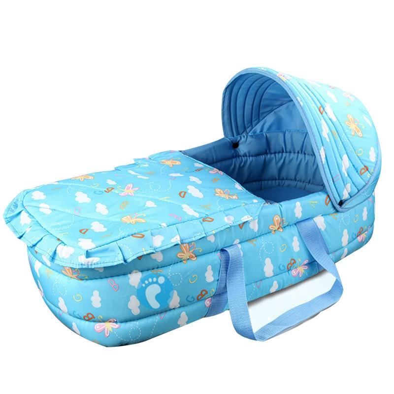 Фото - Портативная детская кровать, удобная детская кровать, детская кровать для путешествий кровать детская jimmy royal