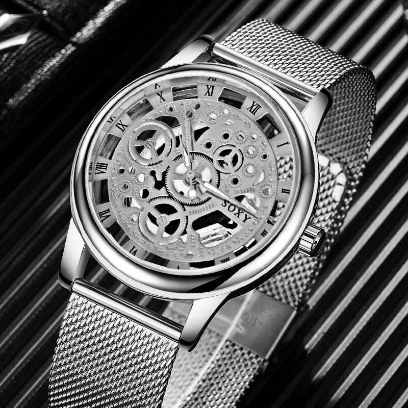 Reloj para hombre, reloj de lujo de marca superior, reloj erkek kol saati reloj hombre 2019