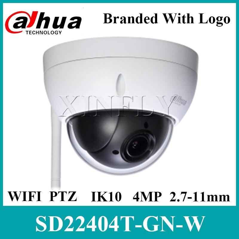 Dahua SD22404T-GN-W 4MP 4x PTZ red Wi-Fi Cámara inglés actualización del Firmware de SD22404T-GN SD22204T-GN SD29204T-GN con Logo