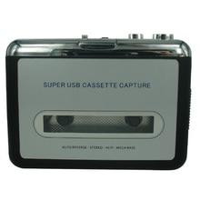 Lecteur de cassette USB Cassette en MP3 convertisseur Capture Audio lecteur de musique convertir de la musique sur bande à lordinateur portable Mac OS CREZ218