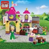 Enlighten Building Block Girls Friends Princess Leah Chanson Bakery 2 Figures 239pcs Educational Bricks Toy For Girl Gift-No Box
