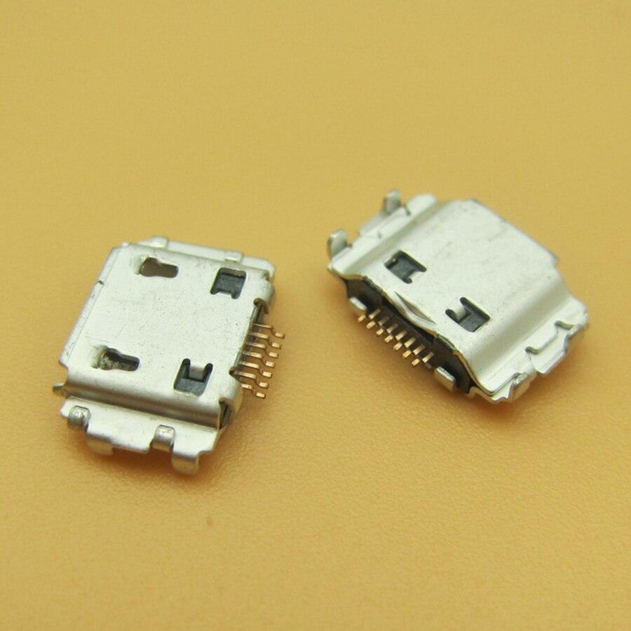10 pcs Conector de Carga para celular Samsung B7722 B7722i C3530 I5700 I5800 580 I717 I7500 I8000 I8510 I9220 N7000 (7 pin, micro USB tipo-B