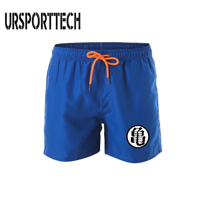 Dragon Ball пляжные шорты мужские шорты быстросохнущие шорты для плавания с принтом летние шорты с эластичной резинкой на талии мужские купальн...