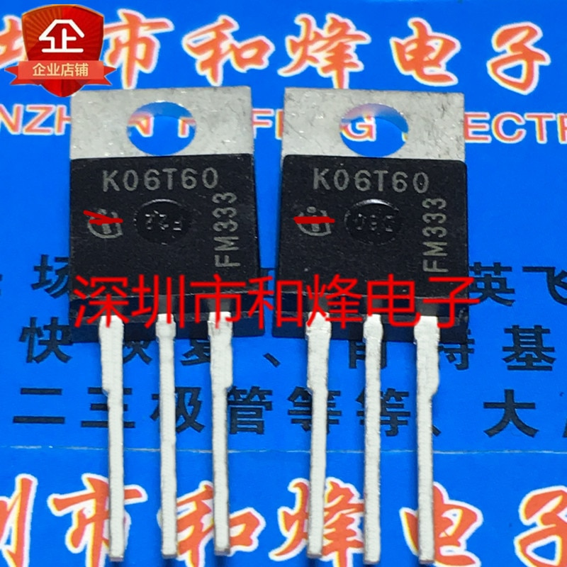 IKP06N60T K06T60 novo importado original