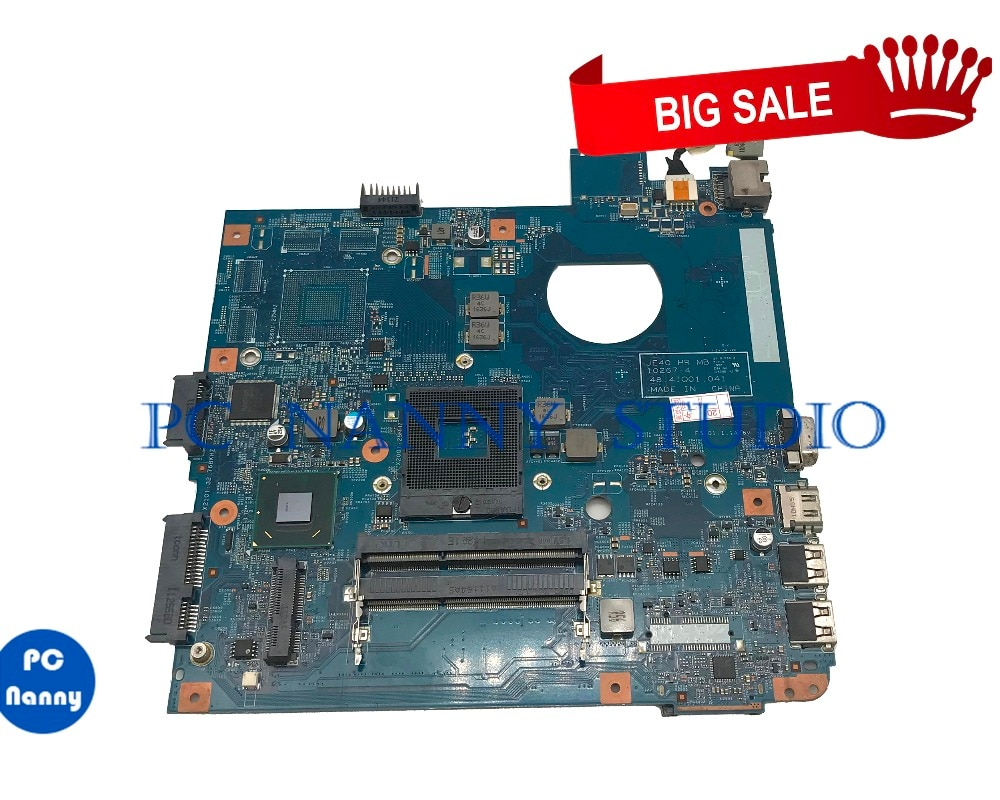 PCNANNY لشركة أيسر أسباير 4750 4752 اللوحة المحمول اللوحة MBRC801002 JE40 10267-4 48.4IQ01.041 HM65 DDR3 اختبار