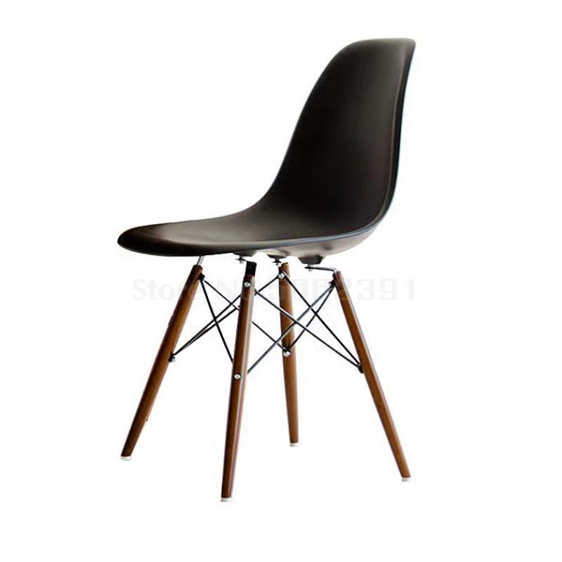 Обеденный стул простой модный пластиковый для досуга Творческий компьютерный