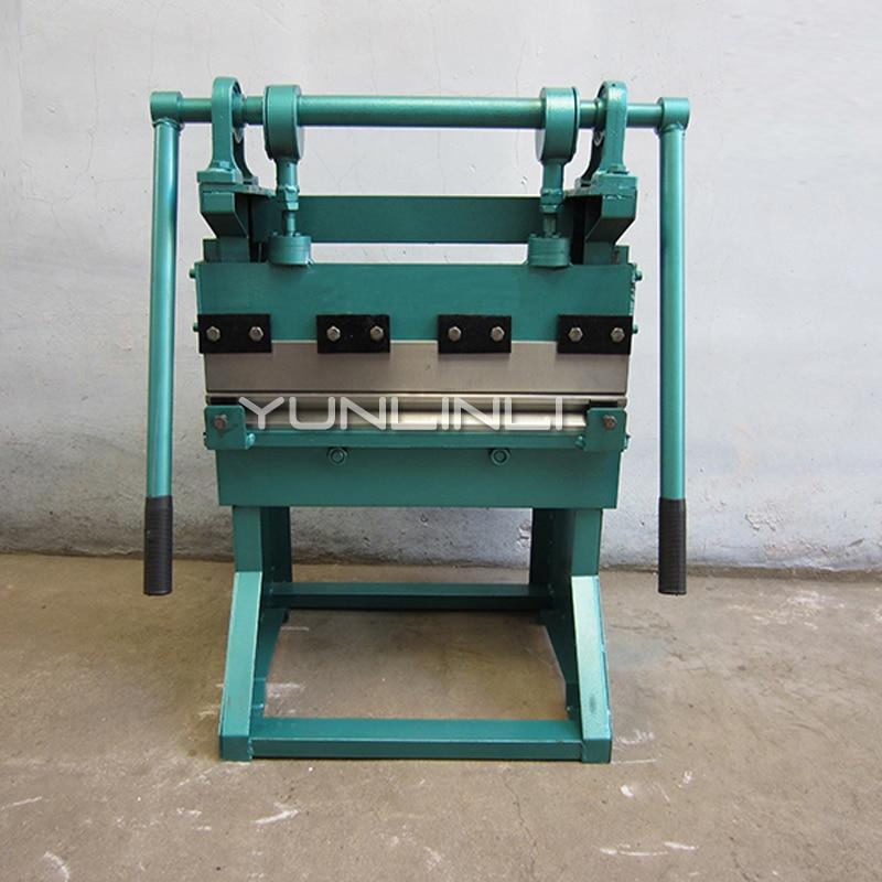 0,6 m Manuelle Biege Maschine Desktop Rechtwinklig Bender Label Falten Maschine
