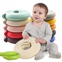 Protecteur adhésif Double face   Mousse NBR haute élasticité 2M pour la maison, pour enfants, bande de coussin adoucissant pour les coins de Table