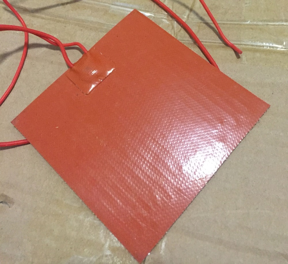 silicone heating pad heated bed Stampante 3d letto riscaldato 320x320mm 220 v 800 w Resin mould preheating