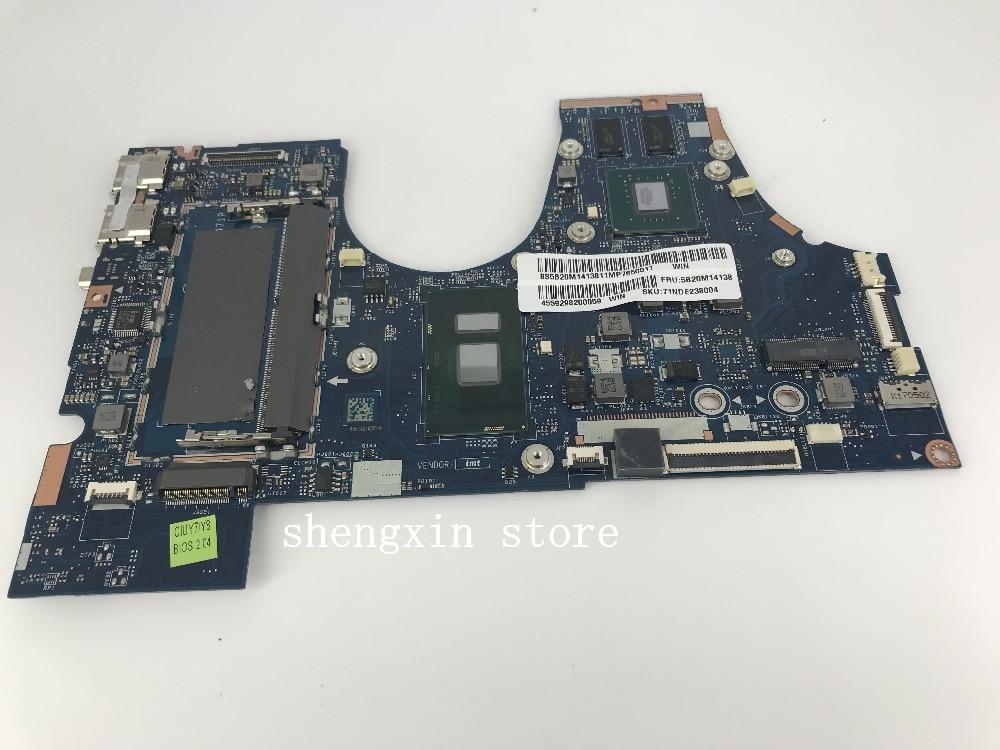 5B20M14138 placa base LA-D471P para Lenovo YOGA 710-15ISK 710-15IKB placa madre portátil I7-7500U prueba de CPU 100%