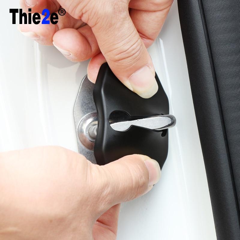 FIT FOR JEEP COMPASS WRANGLER PATRIOT LIBERTY DOOR LOCK BUCKLE CATCH COVER CASE CAP ANTI RUST ACCESSORIES
